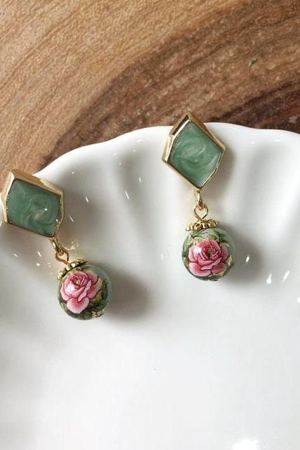 Peace Jade Earrings